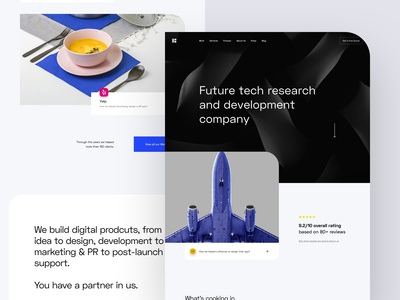 B - Homepage Style Exploration 01