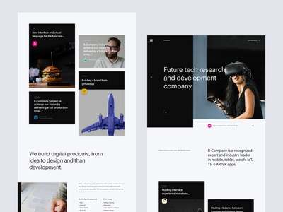 B - Homepage Style Exploration 03
