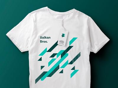 Balkan Brothers - T-Shirt t-shirt design balkan brothers design logo apparel design apparel print apparel branding design branding agency branding