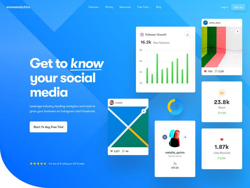 A - Hero Exploration ui design ux design user interface user experience charts app design lander dashboard interface analytics web app web design design web ux ui
