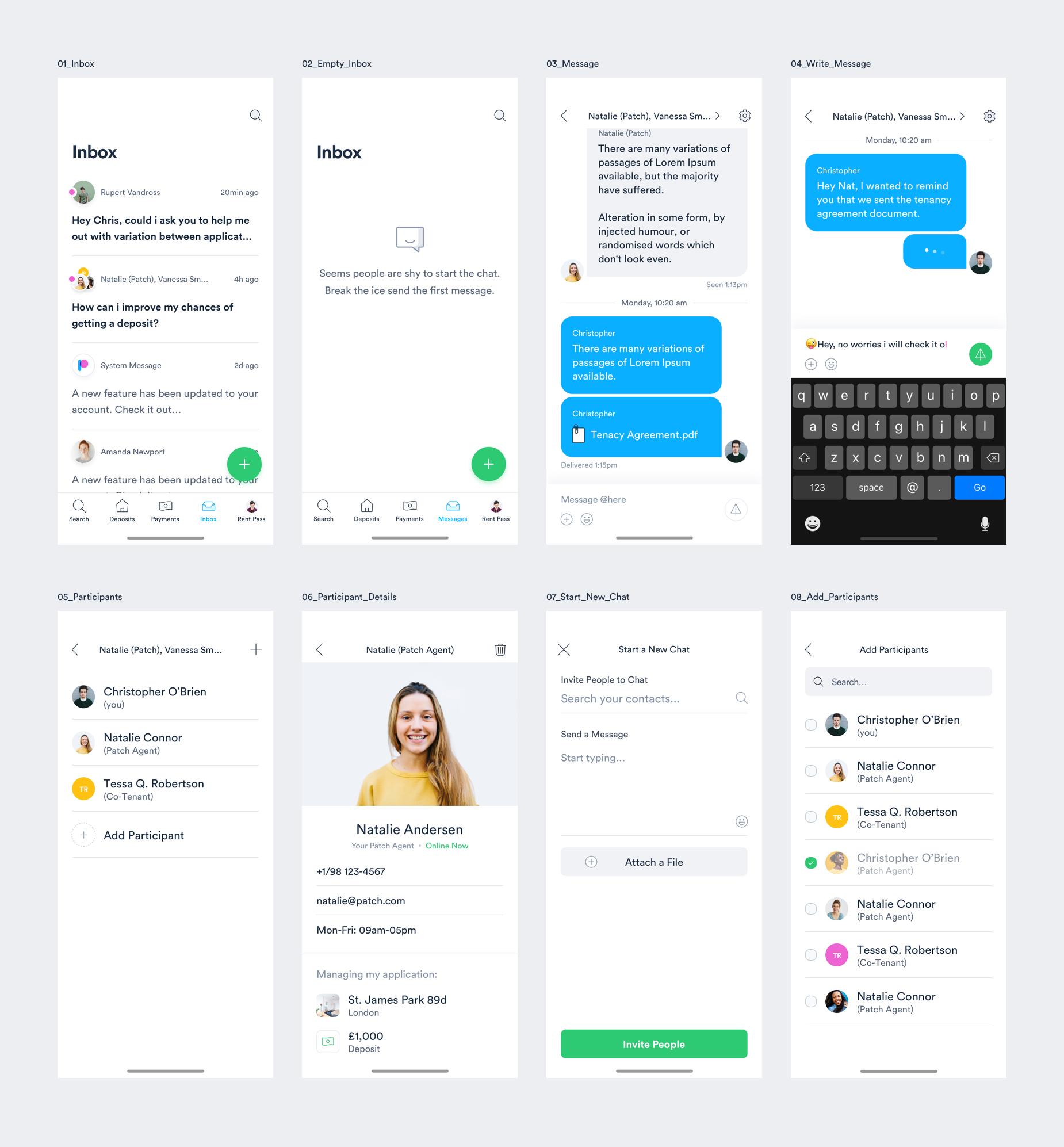 Messaging 1x