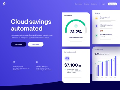 P - Hero Exploration ui kit colors typography app dashboard chart illustration icons servers data cloud page hero website web design user experience user interface ux ui