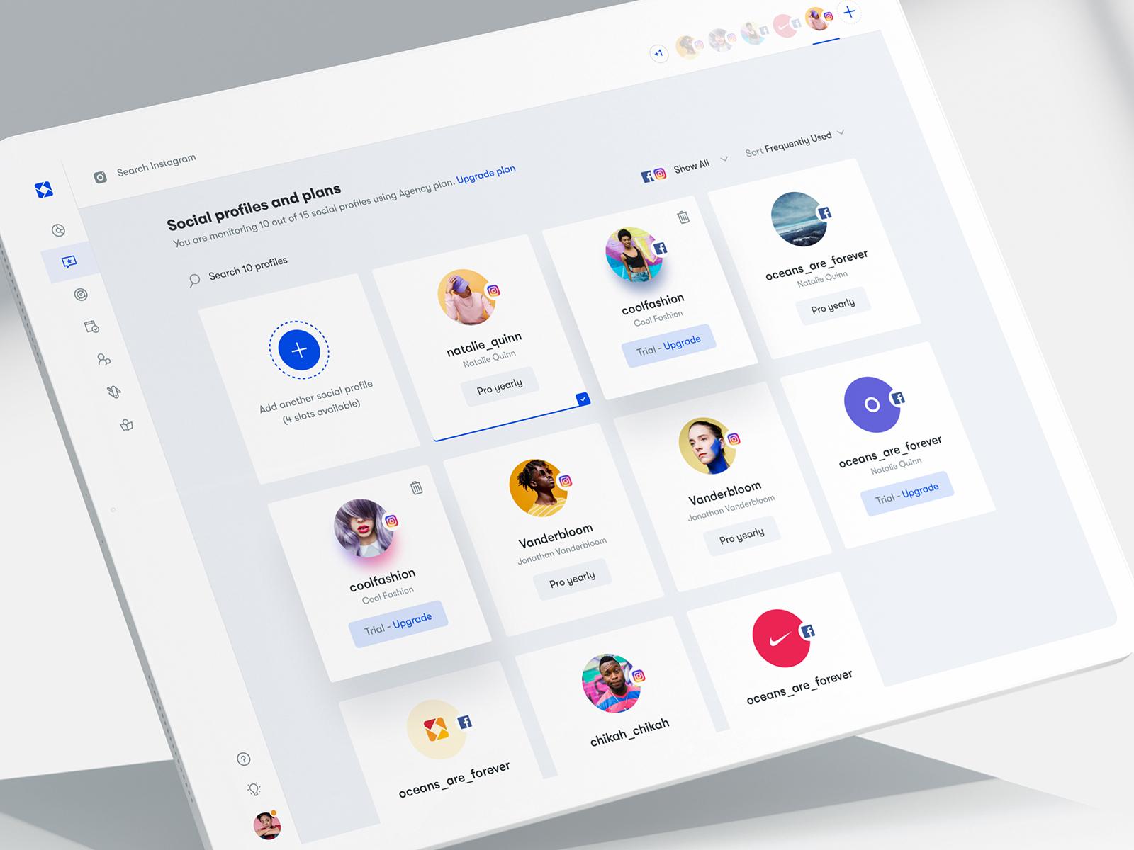 Ico - Social Profiles