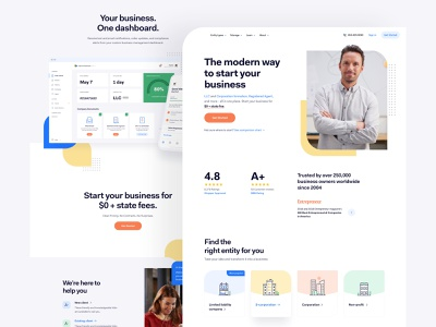 IF - Style Exploration app dashboard style guide b2c company llc user research uiux experience interface user page landing website web design ux ui