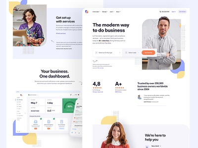 IF - Style Exploration 02 branding design system typography colors style guide interface experience user technology product business landing page lander website design web dashboard ui ux