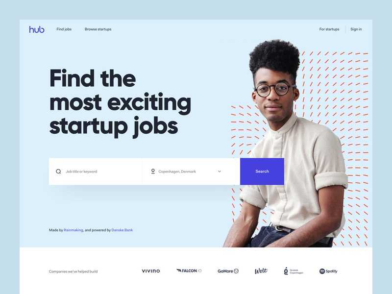 TheHub - Website Exploration 01 product design web design ui kit colors typography clean design system brand style branding page landing app experience interface user ux ui website design