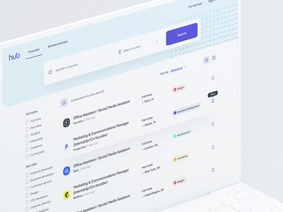 TheHub - Search Jobs 01
