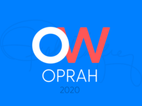 Oprah 2020 Election Logo