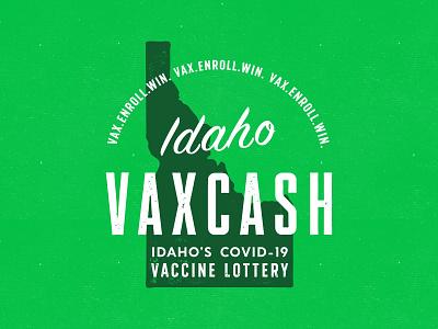 VAXCASH grunge graphic design idaho vintage typography government texture illustration
