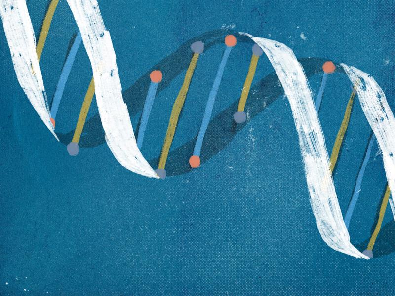 DNA science dna graphic texture illustration blog