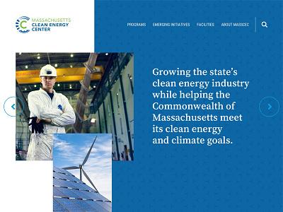 MassCEC boston ui website