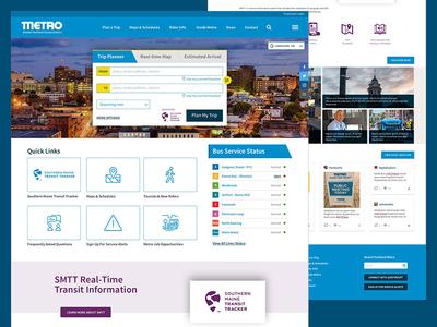 Portland Metro Website Concept
