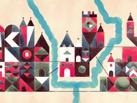 Geometric Village
