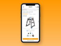 Redesign for fun (mobile)