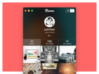 Flume Instagram Mac App