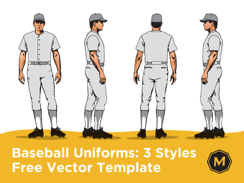 6aca0fa5d Baseball Uniform Template by Micah Sledge