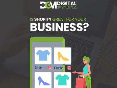 Is shopify is good for business? web design social media email marketing digital marketing