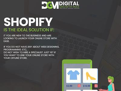 Ideal solution design web design social media digital marketing