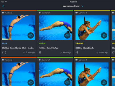 Sports iPad App insight replay diving instant replay sports app
