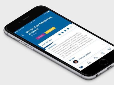 DEVit Conference Official iOS App conference app ios app