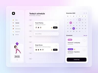 Timenote 3.0 - Desktop Calendar website landing page design mobile design landing page homepage design homepage app design app
