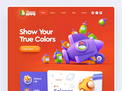 Design illustration website design landing page website landing page design homepage design homepage