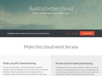 Build a better cloud