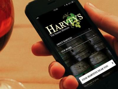 Harveys Beer Finder App