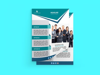 I will design you an attractive flyer for your business. realestate corprate business professional flyer design flyer