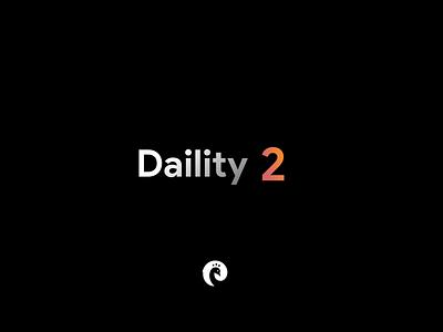 Daility 2 - Coming soon animation sketch figma uikit dark mode styleguide branding design system 3d concept design mobile motion graphic trailer dark ui workout dark ios ux ui
