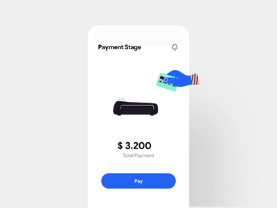 Payment interaction illustrations concept design iphonex app ios interface payment bank mobile interaction animation interaction minimal ui