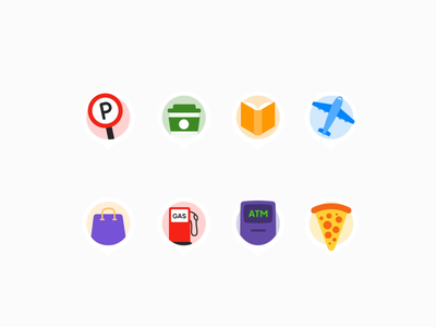 Badges animation interaction logo illustration icons animated gif animation app mobile maps ui design motion minimal uiux ui