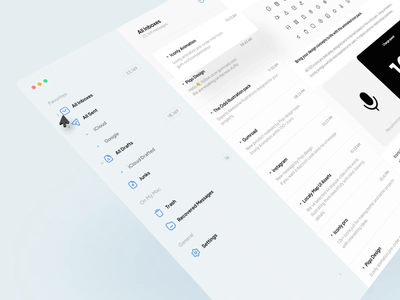 Iconly Animation | 100 Animated icons 3d concept design e-mail mac desktop motion app minimal uxdesign uidesign ux ui piqo animated icons animation iconly