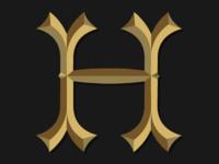 Chiseled H