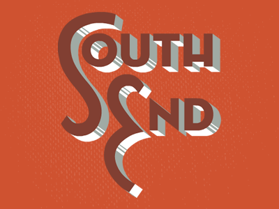 South end text
