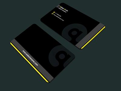 Business card 103 website vector logo flat clean icon illustrator minimal graphic design design