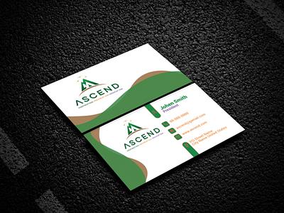 Business card 117 flat photoshop template photoshop clean icon illustrator minimal logo design graphic design