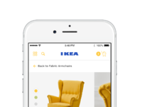 Ikea iphone 6 mockup