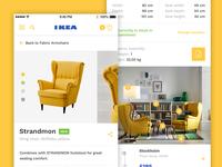 IKEA iOS App Product Redesign