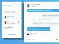 Messages Chat App
