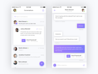 Messaging App iOS Concept