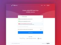 RSSUnify Web App