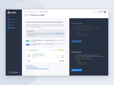Moltin API Tutorial Step
