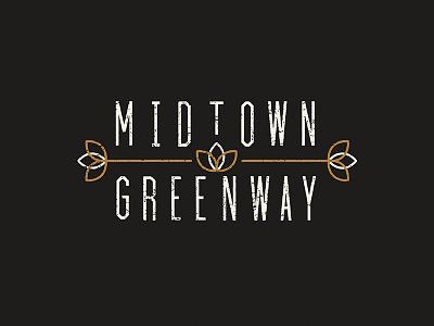 ArtCrank Poster Progress - Midtown Greenway poster bike illustration minnesota artcrank biking midtown greenway leaves