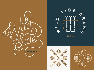 Wild Side Brews - Identity