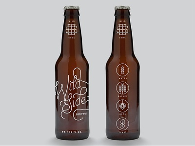 Wild Side Brews - Packaging