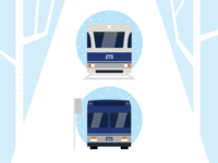 Winter U-Pass Illustration