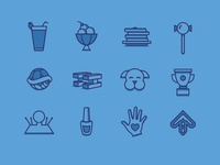 StressLess Icons