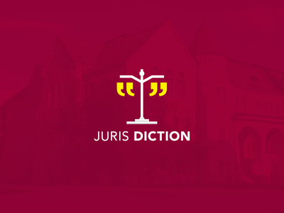 Concept #1: Weight of Words canada newspaper justice marks quotation scales identity brand design logo law