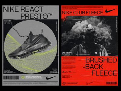 Nike Posters | 01 nike running fashion lifestyle poster art nike air poster design poster nike poster nike layout design
